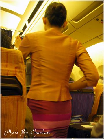 泰航機上 -