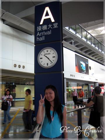 香港機場 - 靖