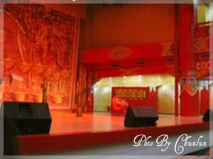 九寨溝民族藝術團表演舞台