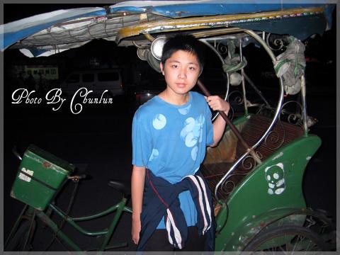 四川成都街上 - 三輪車