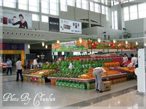 成都機場 - 水果攤
