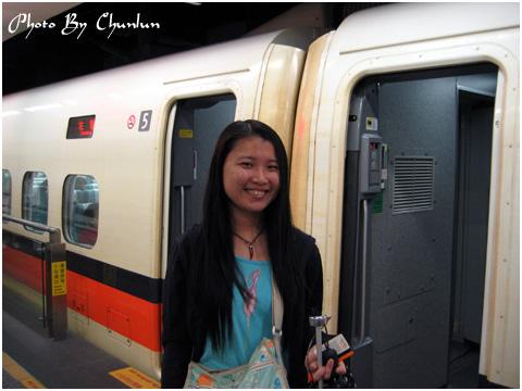 高鐵列車 - 靖