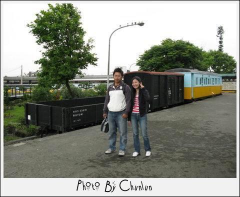 花蓮火車站 - 火車展示