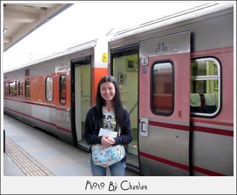 花蓮火車站 - 月台 & 列車