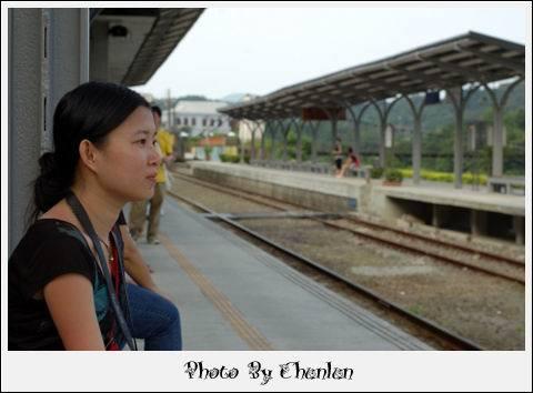 十分車站月台 - 靖