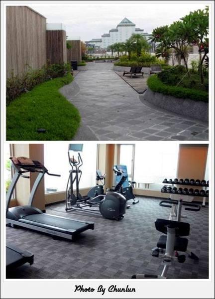 台邦商旅 - 空中花園 & 健身房