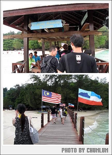 沙比島Sapi Island - 入島碼頭