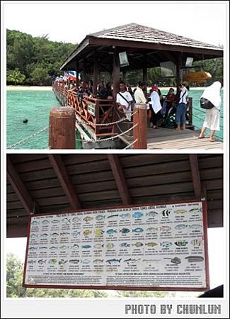 馬奴干島Manukan Island