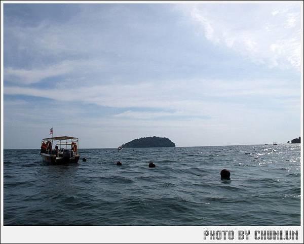 馬奴干島Manukan Island - 回程