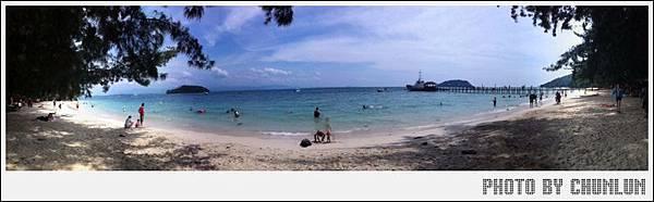 馬奴干島Manukan Island - 全景