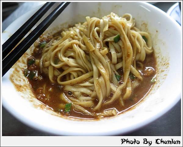 麻醬麵蛤蜊湯