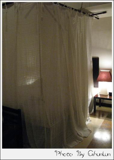 Barong Resort & Spa - 蚊帳放下來了