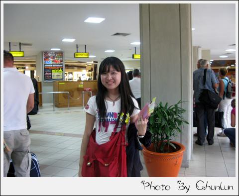 峇里島機場 - 出境櫃台