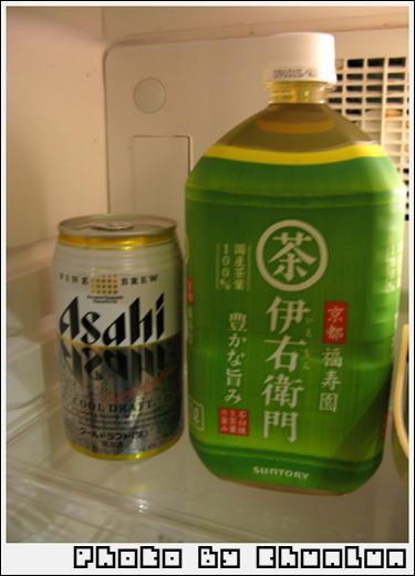 便利商店 - 啤酒 & 綠茶