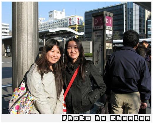 京都車站 - 公車候車處
