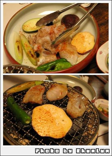 泳ぎふぐ料理 濱源 - 河豚燒烤