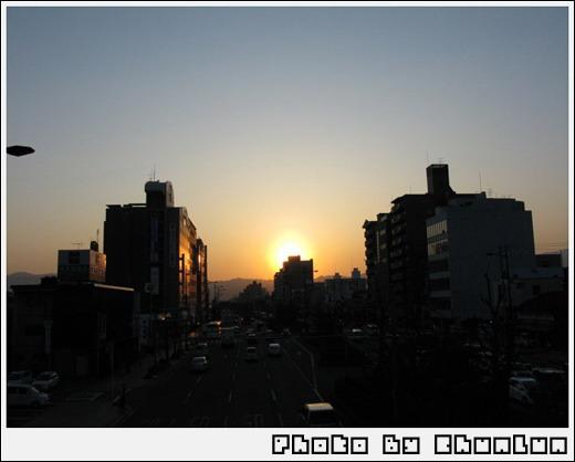 東急飯店旁天橋 - 夕陽