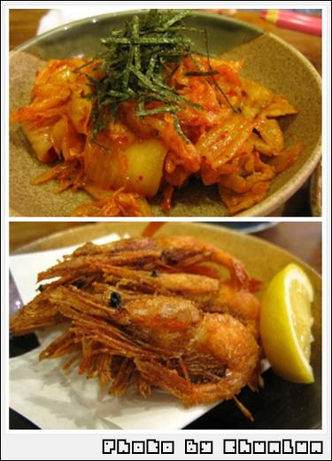 吉鳥居酒屋 - 泡菜雞肉 & 炸蝦