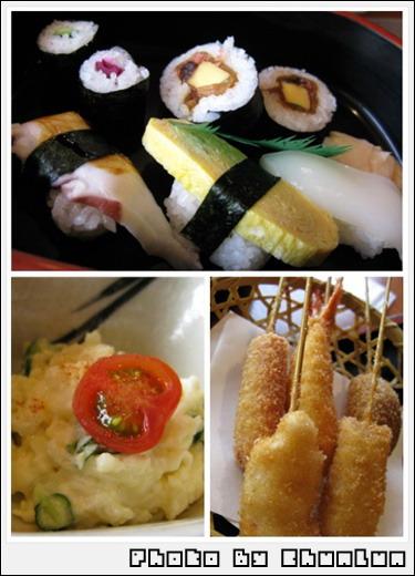傳七壽司 - 串かつとぉ壽司