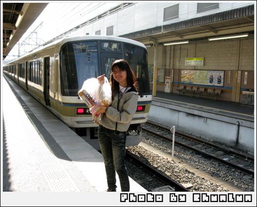 京都車站 - JR奈良線列車