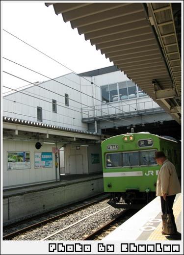 宇治站 - 列車