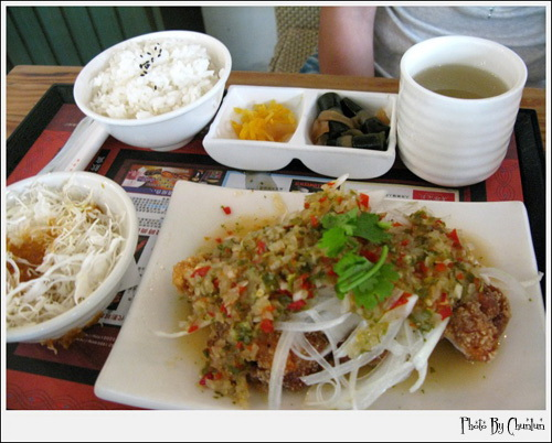 巴沙諾瓦餐廳 - 泰式椒麻嫩雞腿