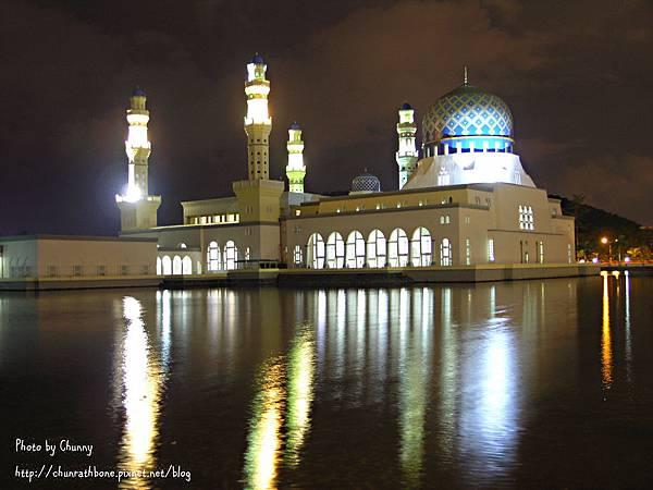 亞庇清真寺晚上最美