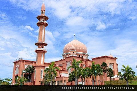 沙巴大學也有美麗清真寺