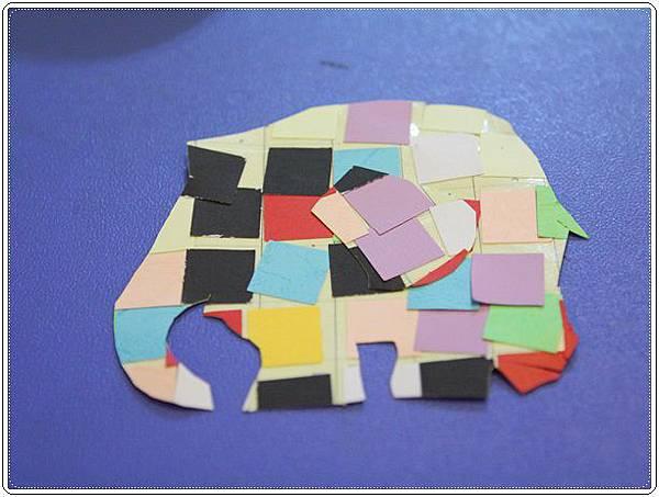 大象艾瑪勞作 (18)