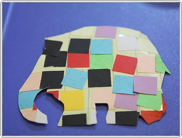 大象艾瑪勞作 (17)