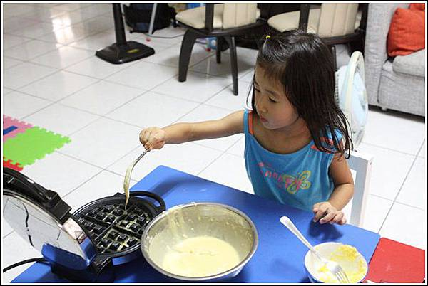 鬆餅DIY (8)