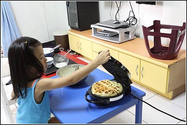 鬆餅DIY (10)