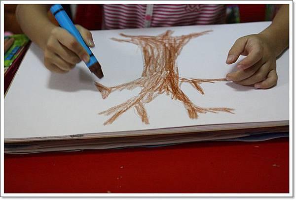 手指畫秋樹 (7)
