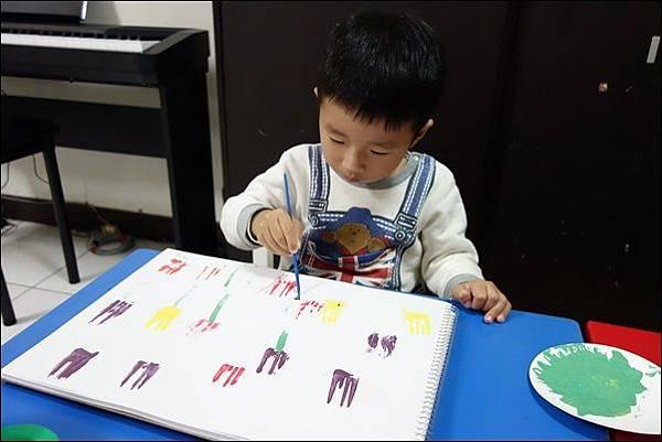 叉子印畫鬱金香 (8)