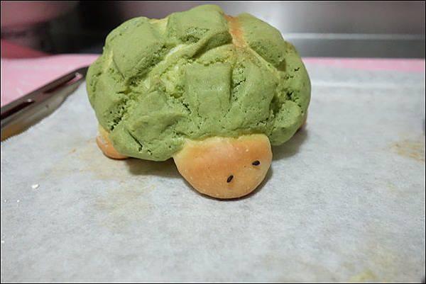 抹茶烏龜波蘿麵包 (21)