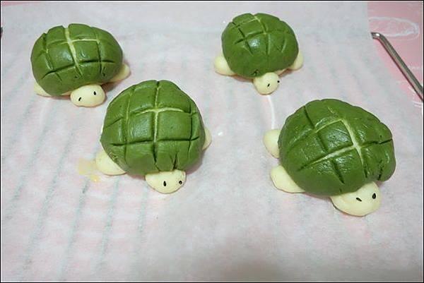 抹茶烏龜波蘿麵包 (19)