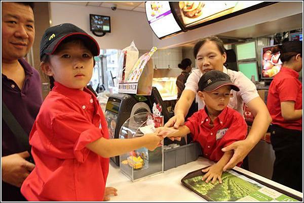 麥當勞小小服務員體驗 (26)