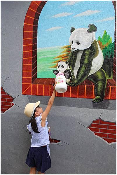 石龜溪貓熊彩繪 (8)