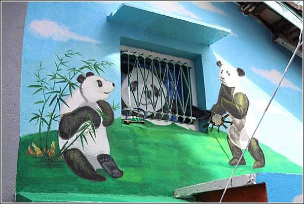 石龜溪貓熊彩繪 (9)