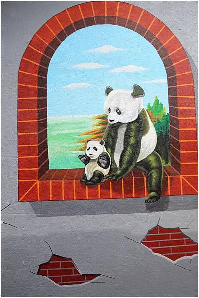 石龜溪貓熊彩繪 (11)
