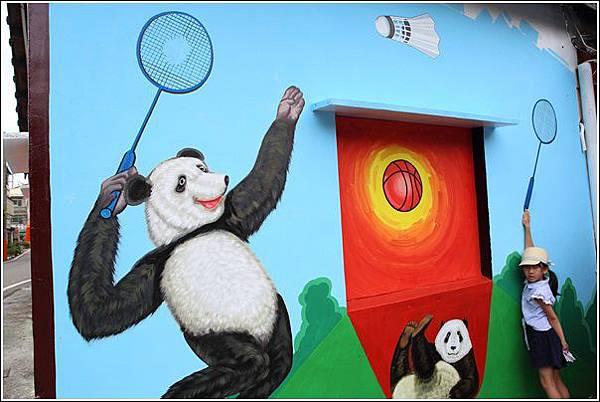 石龜溪貓熊彩繪 (40)