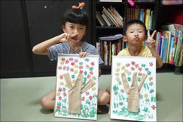 拼圖做秋樹 (3)
