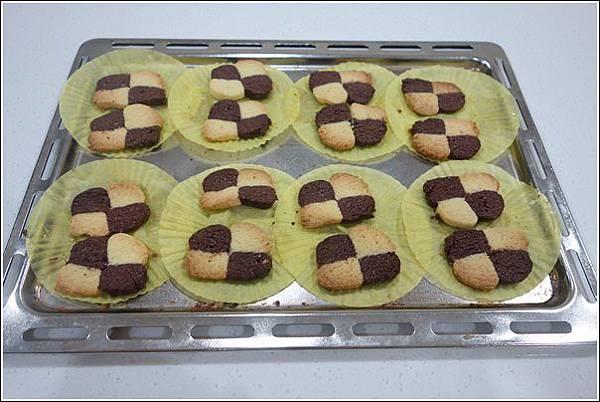 巧克力方格手工餅乾 (20)