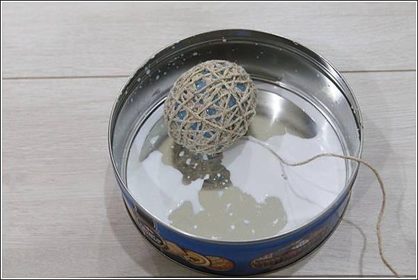 藤球燈串DIY (9)