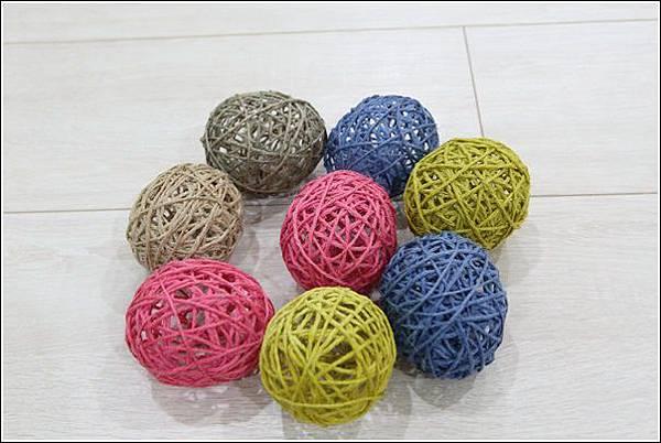 藤球燈串DIY (16)
