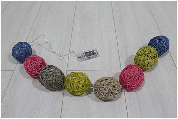 藤球燈串DIY (18)