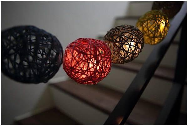 藤球燈串DIY (20)