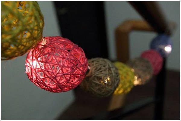 藤球燈串DIY (21)