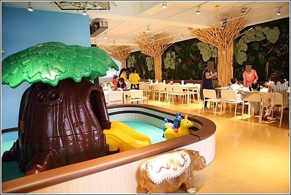 魔法城堡親子餐廳 (14)
