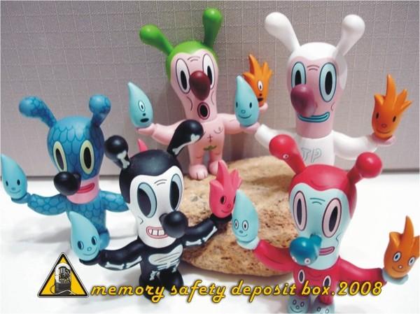 童玩節紀念公仔-水火兔系列